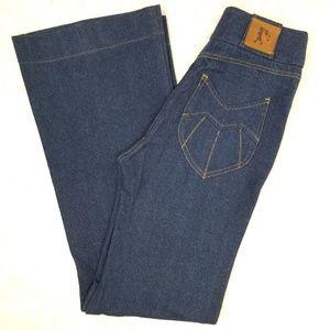 """Karen Walker """"Original Sin"""" high waist flare jeans"""